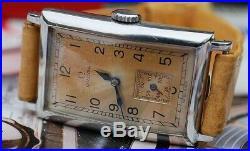 OMEGA CK730 ART DECO TANK GENTS VINTAGE WATCH c1930's-RARE STUNNER