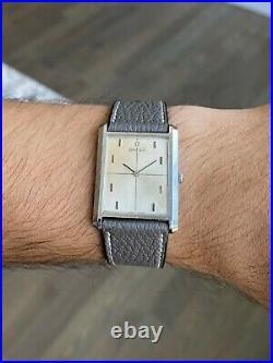 Omega 1963 Stainless Steel Tank Vintage Watch (Manual Wind 17J CAL. 620) MCM