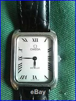 Omega De Ville Classic Tank Style Dress Watch 511.0503 Cal 625