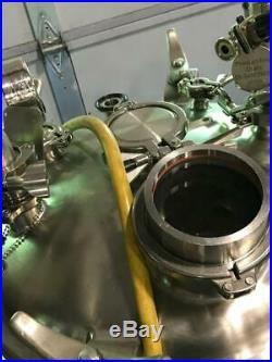 Precision 100 Liter 316L Stainless Steel Portable Tank Vessel Reactor & Agitator
