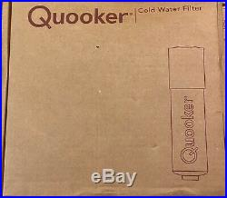 Quooker Fusion Square Stainless Steel Tap with PRO 7L Tank with Water Filter