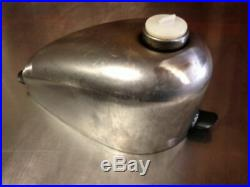 SMALLEST FRISCO PEANUT TANK 1.3 gl GAS BOBBER CHOPPER XS 650 CB 750 HONDA YAMAHA