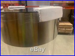 STAINLESS STEEL ACRYLIC COLUMN CYLINDER AQUARIUM FISH TANK 210 Litres
