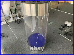 STAINLESS STEEL ACRYLIC COLUMN CYLINDER AQUARIUM FISH TANK -210 Litres