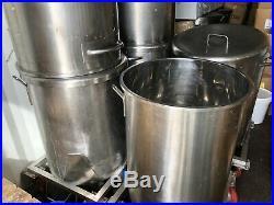 Stainless Steel 316 Barrel Vessel Tank 200L Cost £3000 New Micro brewing Food