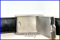 Stainless Steel Cartier Tank Basculante 2522
