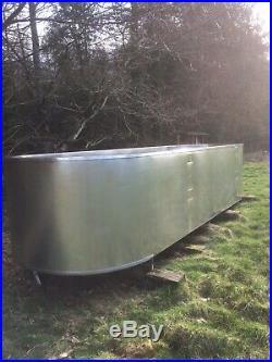 Stainless steel tank, swimming pool, fish pond, brewing tank, cheese making vat