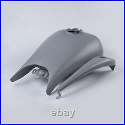 Stretch 6.6 Gallon Gas Fuel Tank Fit For Harley Touring Electra Road Glide 08-18