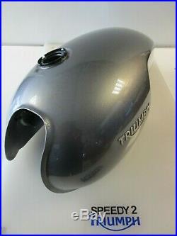 Triumph Thruxton R Fuel Petrol Tank Silver Ice T2405376 Mp