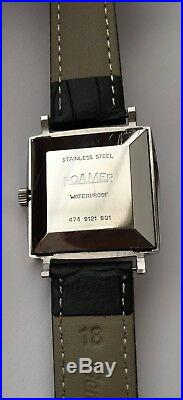 Vintage Rare Roamer Automatic Red Sea 23 Jewels Tank Blue DDE. BR+14031/63